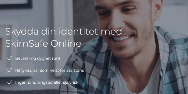 SkimSafe Online är en proaktiv tjänst mot ID-bedrägeri
